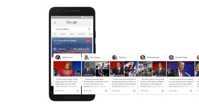 Fox News Debate Google Details