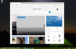 Microsoft replaced Internet Explorer with the Microsoft Edge web browser in Windows 10.
