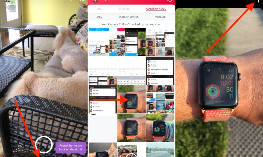 How to upload photos from camera roll to snapchat ccuart Image collections