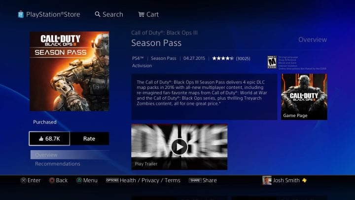 You can buy the Awakening Black Ops 3 DLC, or you can buy the Season Pass, but you shouldn't try to buy both.