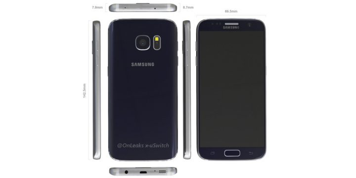 Galaxy S7 Render Based on Leaks