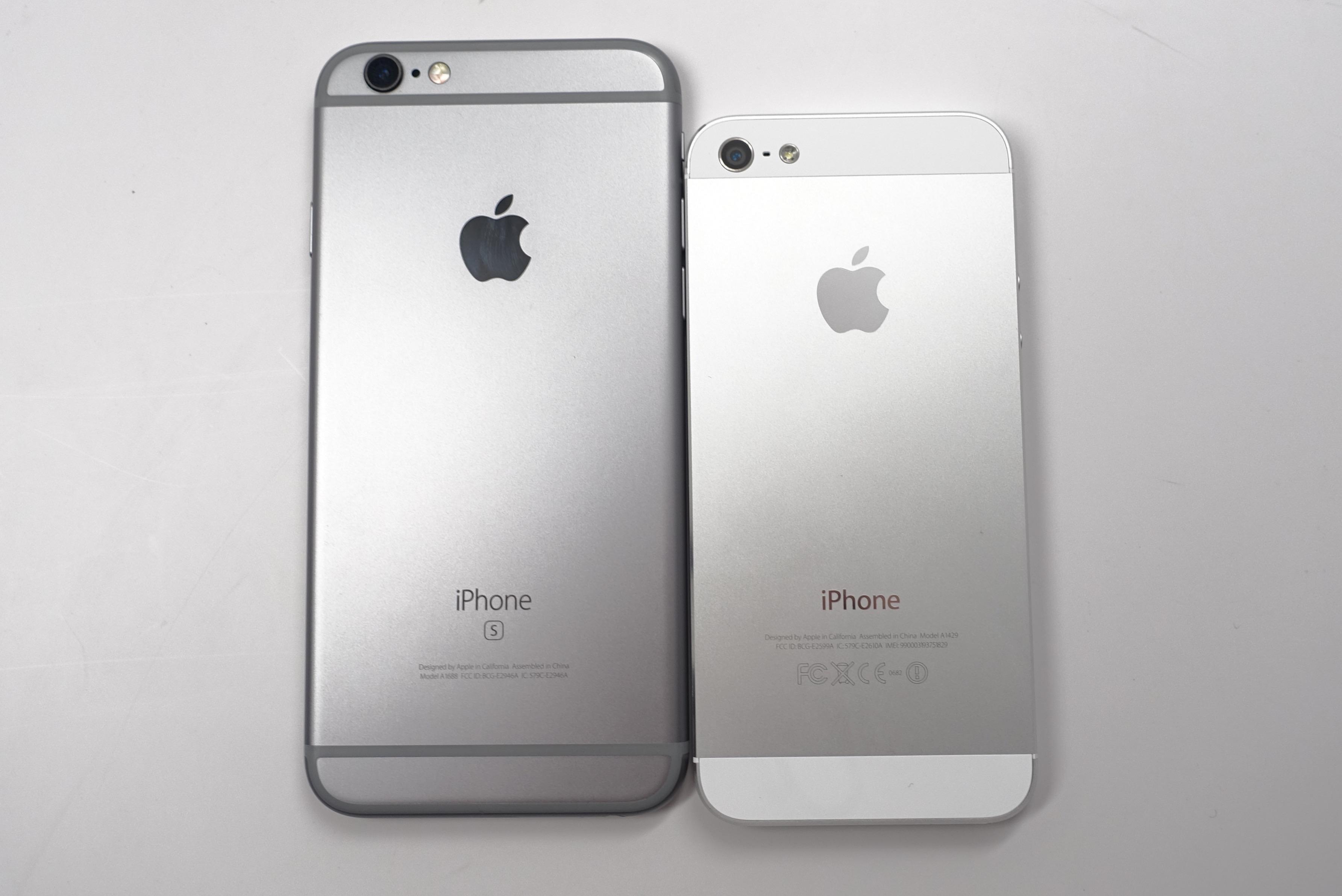 IPhone 6s Vs 5se 3