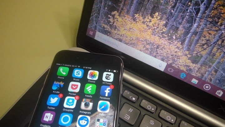 iphone and windows 10