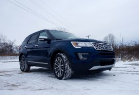 2016 Ford Explorer Platinum Review - 27