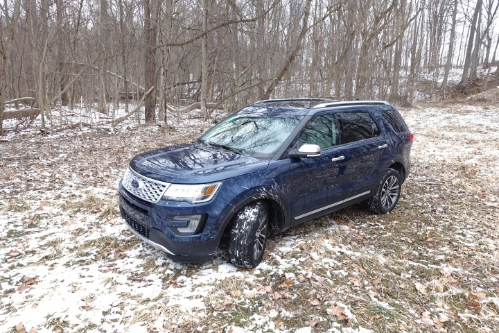 2016 Ford Explorer Platinum Review - 47