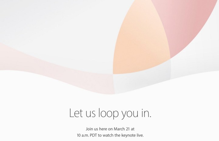 Expect a 2016 March Apple Event Live Stream