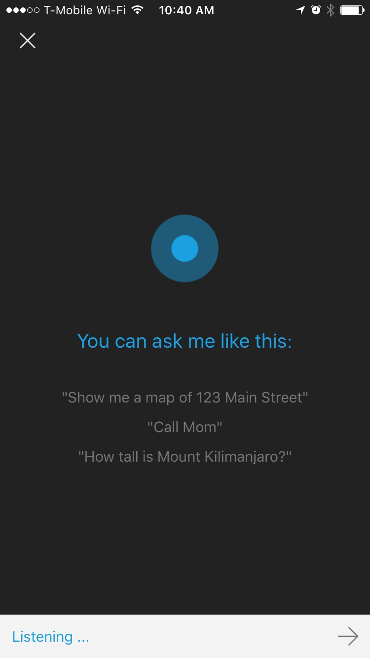 Cortana change your voice to mail - Cortana For Iphone 3