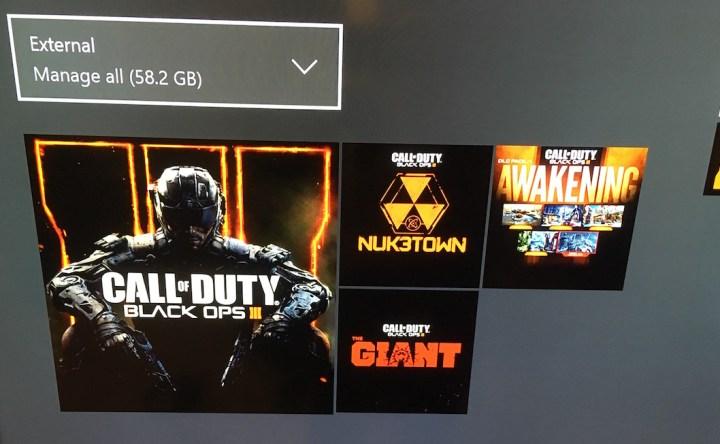 Delete Black Ops 3 DLC Xbox One Awakening - 3