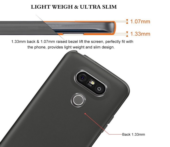 Tauri TPU Slim Case for LG G5