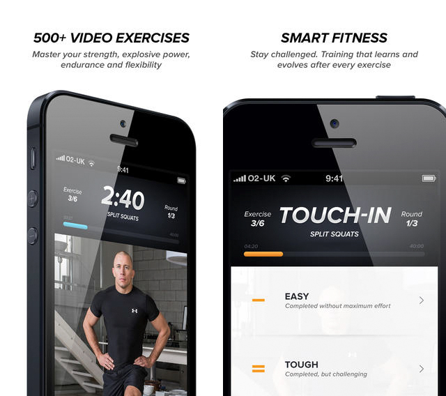 Touchfit-screenshots