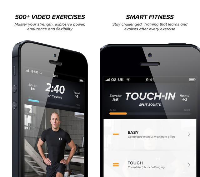 Touchfit-screenshots