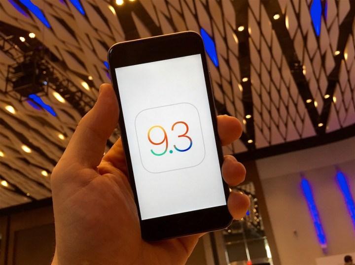 iOS 9.3 Update Details