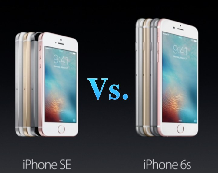 Here's how the iPhone se vs iPhone 6s comparison stacks up.