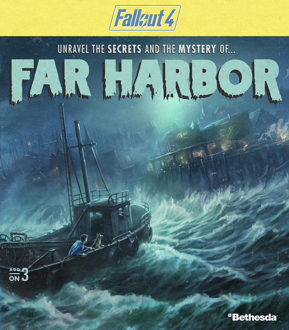 fallout 4 far harbor dlc release 5 things to know. Black Bedroom Furniture Sets. Home Design Ideas