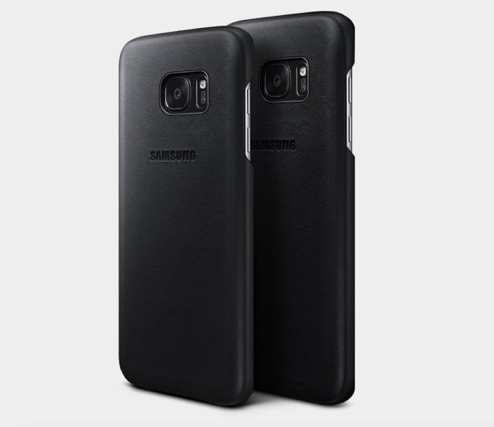 Samsung Genuine Leather Galaxy S7 Edge Case