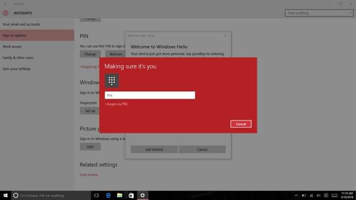 How to Login to Windows 10 with Your Finger (8)