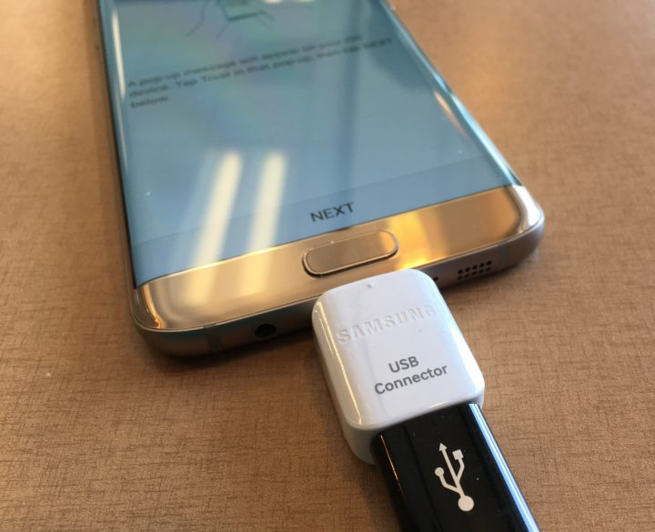 samsung galaxy s7 edge OTG dongle for smartswtich