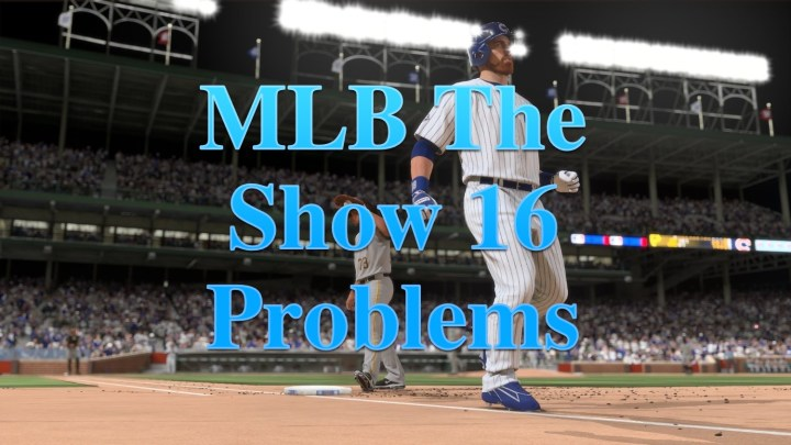 Midnight MLB The Show 16 Problems