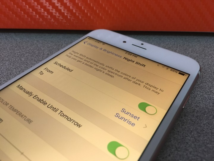 Night Shift for iPhone Promises Better Sleep