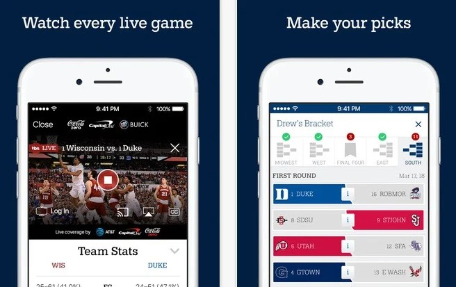 Where and how to watch March Madness live.