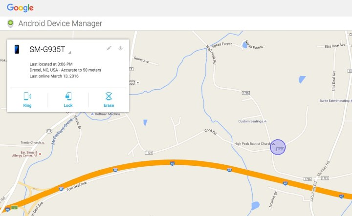 android device manager website