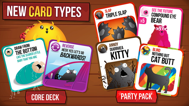 Best iPhone games - Exploding Kittens