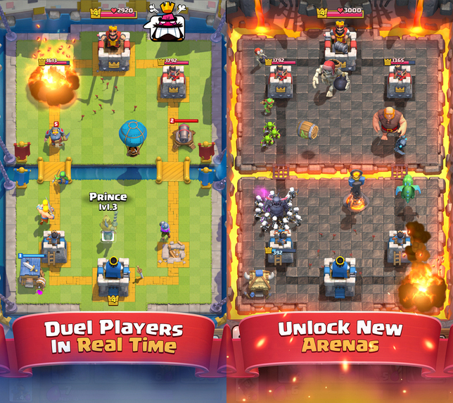 Best-iPhone-games---clash-royale