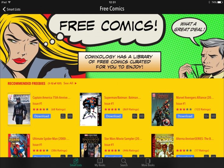 Comics on iPad: Comics - Best CBR Reader