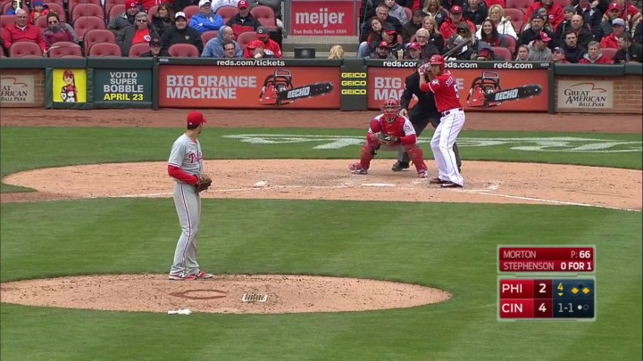 MLB TV on the iPhone At Bat app
