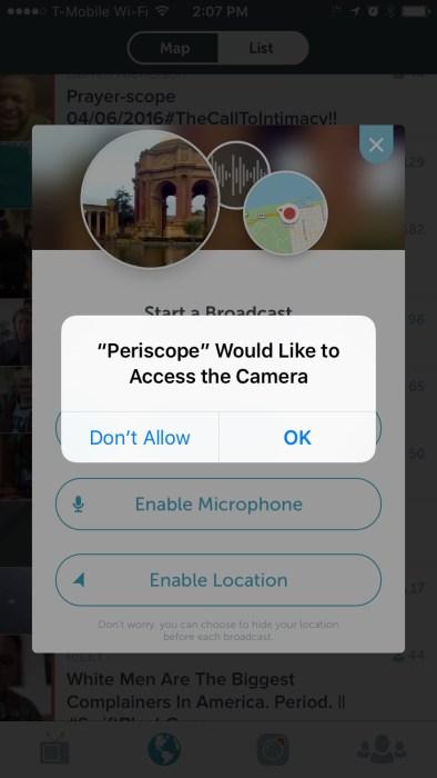 Periscope Screenshots (5)