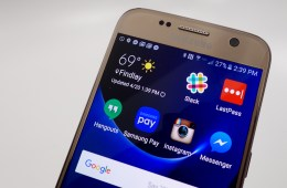 Samsung Galaxy notification bar