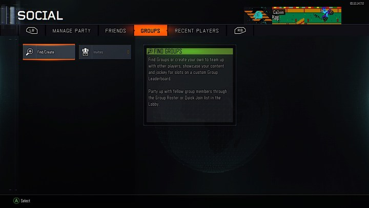 You can search for Black Ops 3 groups or make your own.
