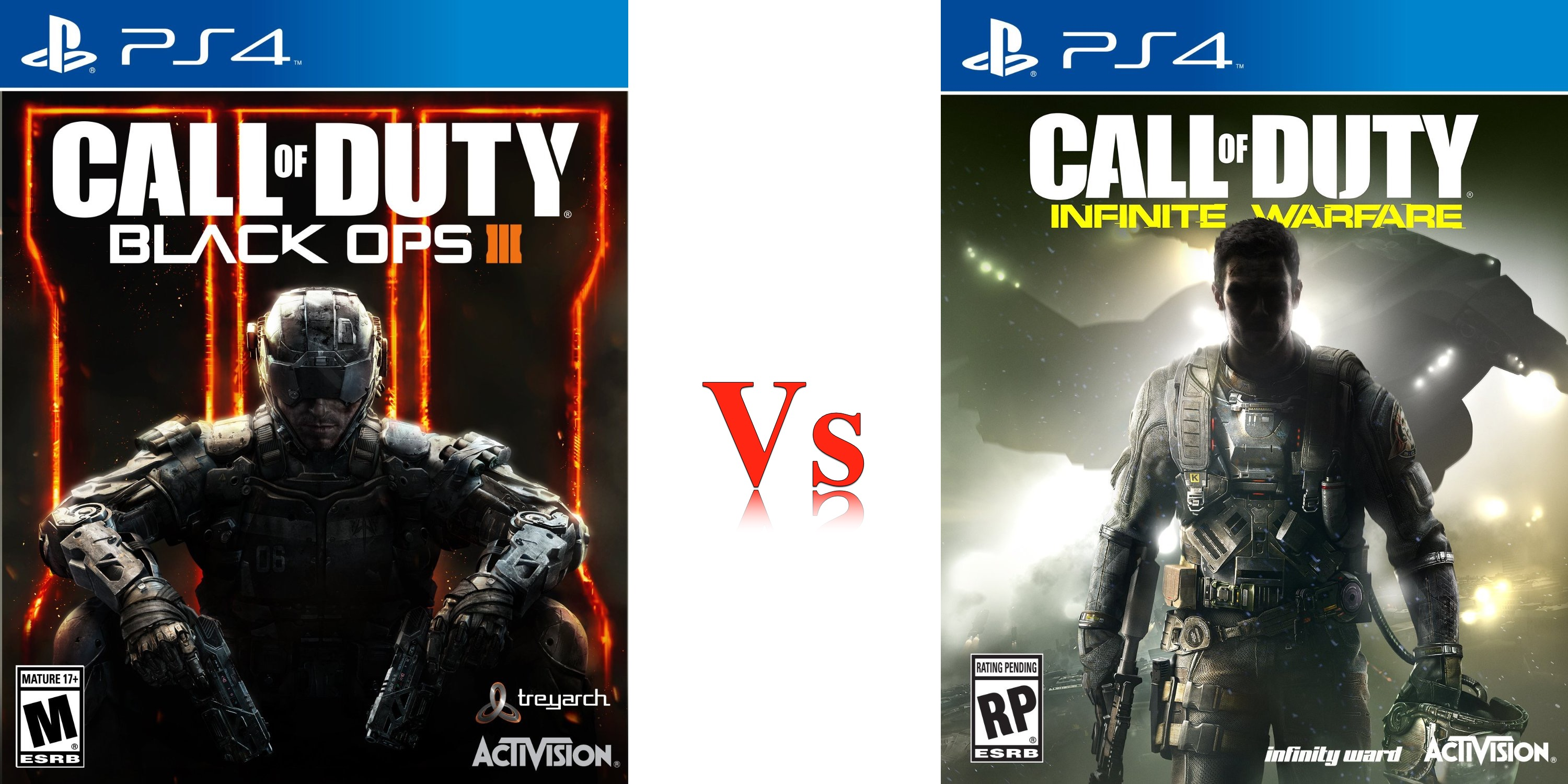 Call of Duty: Infinite Warfare vs Black Ops 3: What's New