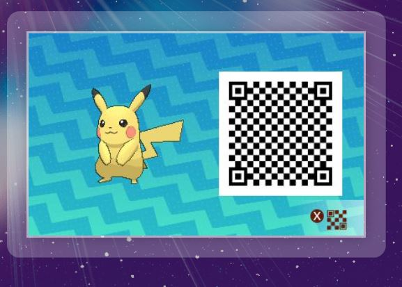 Pokemon Sun and Moon Have QR Scanning