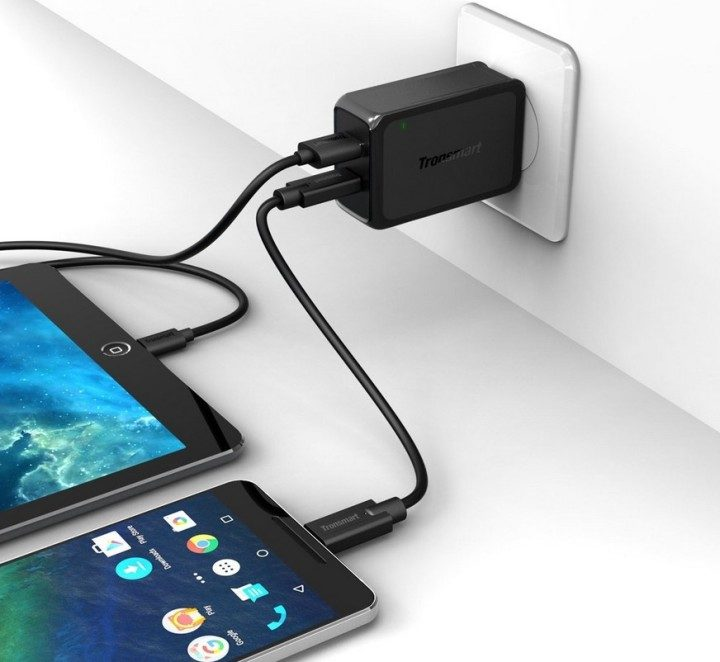 Tronsmart Dual Quick Charge 3.0 and Type-C Charger