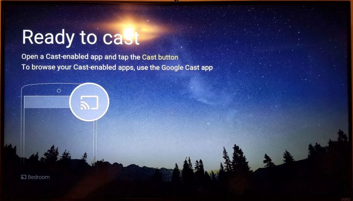 chromecast ready to cast