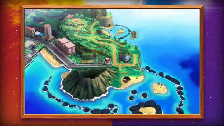 Pokémon Sun and Moon's New Region