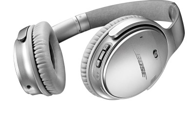 The new Bose QuietComfort 35 bluetooth headphones deliver Bose Active Noise Cancelling and wireless connectivity.