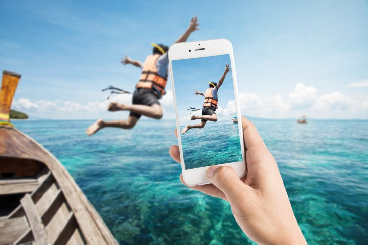 If you're doing this, you may want to buy a cheap waterproof iPhone case.