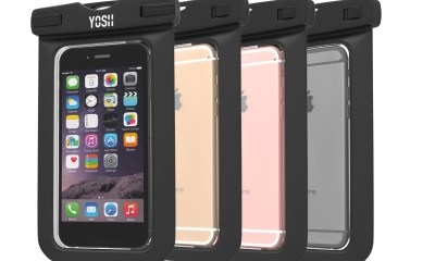 A pouch like this is one of the cheapest waterproof iPhone cases that are reliable.