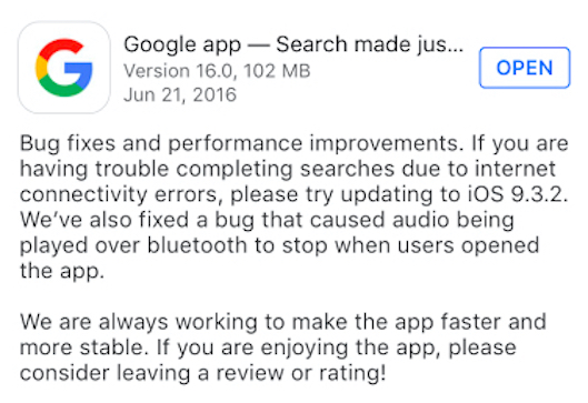 Install If You Use the Google App