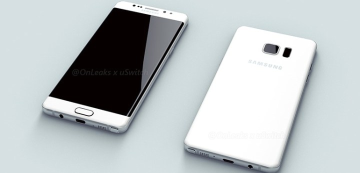 This could be our first look at the curved Galaxy Note for 2016