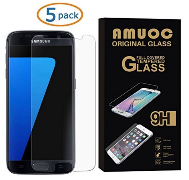 Amuoc Galaxy S7 Glass 5-pack