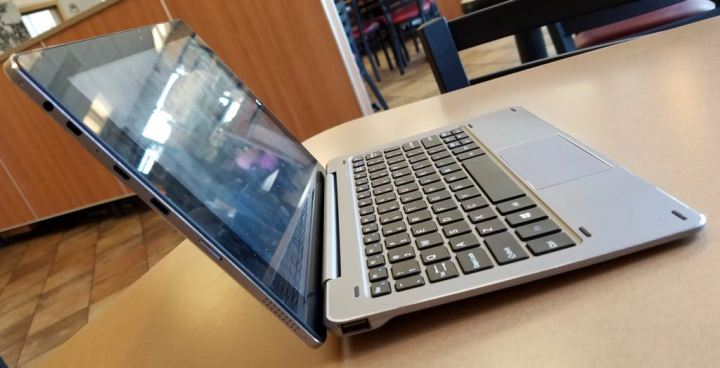 chuwi hibook dual boot 2 in 1 right profile