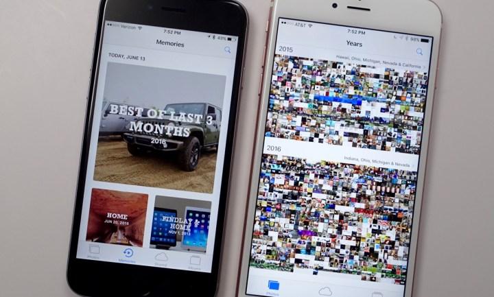 iOS 10 Photos Upgrades