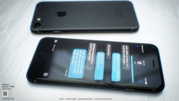 We may see an iPhone 7 in black. (Martin Hajek)