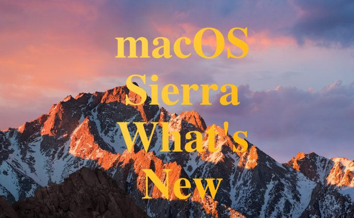 Learn what's new in mac OS Sierra and how macOS 10.12 vs OS X El Capitan stacks up.