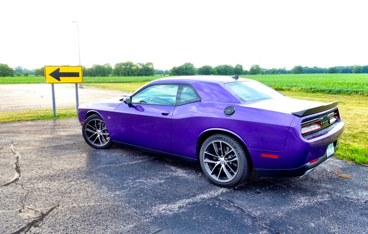 The 2016 Dodge Challenger's exterior is undeniably striking.