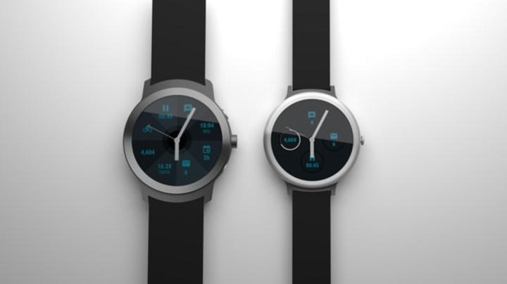 Render visualizing the new Google smartwatch rumors