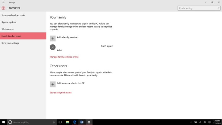 How to Add an Account to Windows 10 (4)